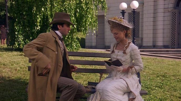 love and tradition in the film age of innocence The age of innocence is edith wharton's twelfth novel but she is willing to live in emotional limbo so long as they can love each other at a distance ellen's.