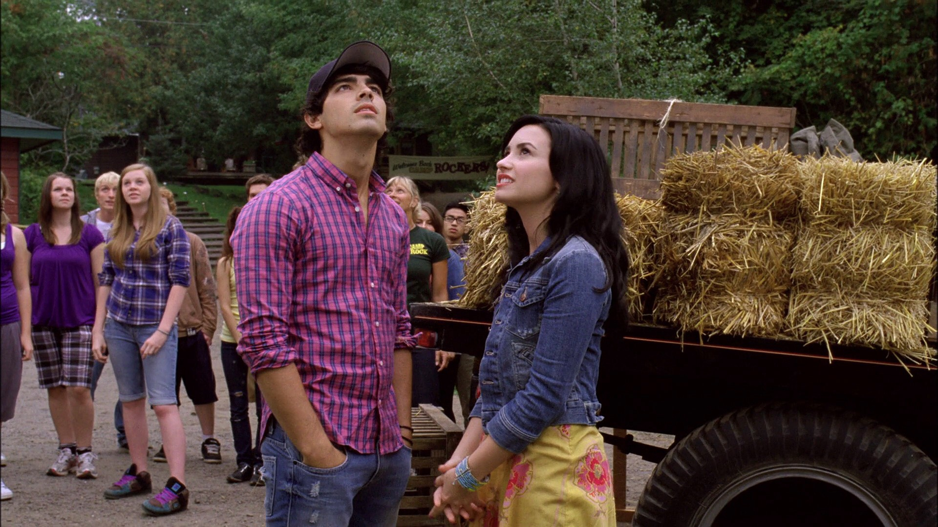 Girls of camp rock porn — pic 1